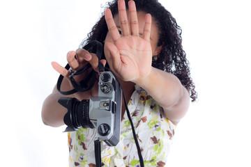 No me tomen fotos