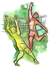 Volleyball episode