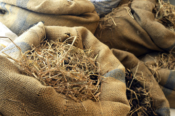 Dry Grass In The Sack