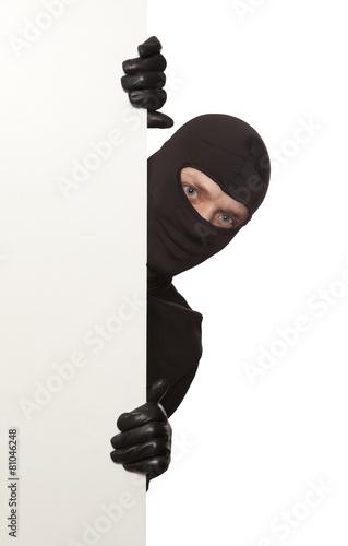 Poster Burglar