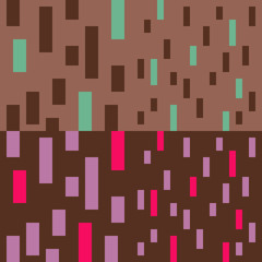 pattern pixel art brown purple