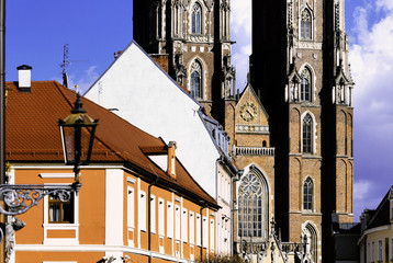 Wroclaw Cathedral in Ostrow Tumski, Poland
