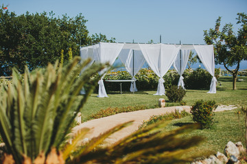 Tent for a holiday