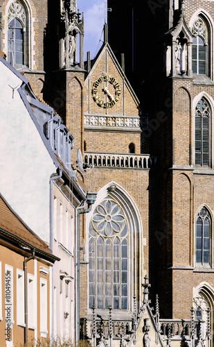 Wroclaw Cathedral in Ostrow Tumski, Poland © satori
