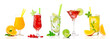 Tropical cocktail assortments - 81049841
