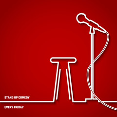 Stand Up Comedy Line