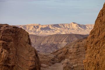 mysterious Negev Desert, Israel