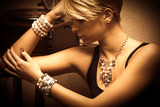 woman and jewelry - 81051481