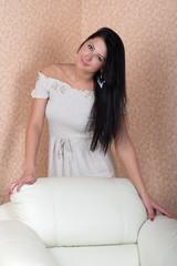 Beautiful young sexy woman