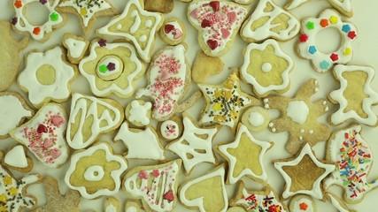 Homemade holiday cookies