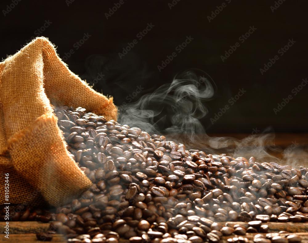 kofeina fasola fasola - powiększenie