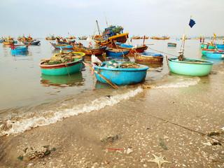 Mui Ne Hafen. Vietnam