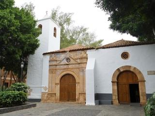 The church of Nuestra Senora de Regla in Pajara