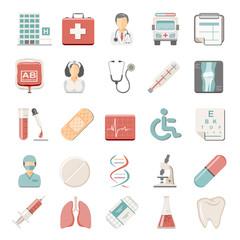 Flat Icons - Medical