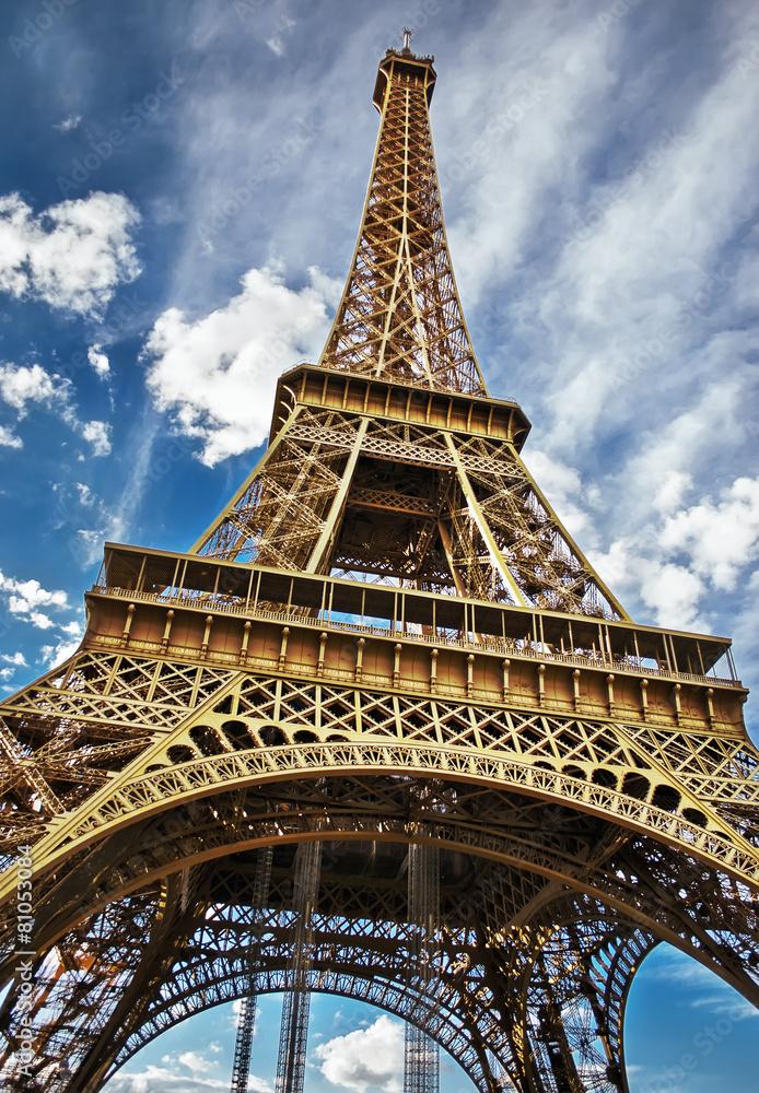 francja narodowy sprężyna - powiększenie