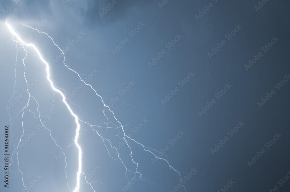 sztorm burzliwy cloudscape - powiększenie