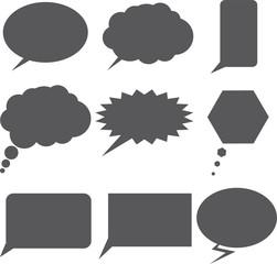 Chat Bubbles Set