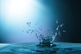 waterdrop background