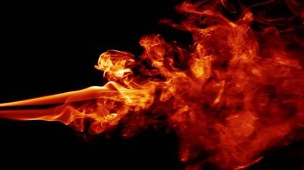 Abstract Fire Smoke Turbulence