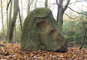 Menhir Stone Skull