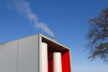 Modern Biomass power station