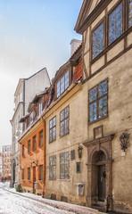 Riga Old Narrow Street