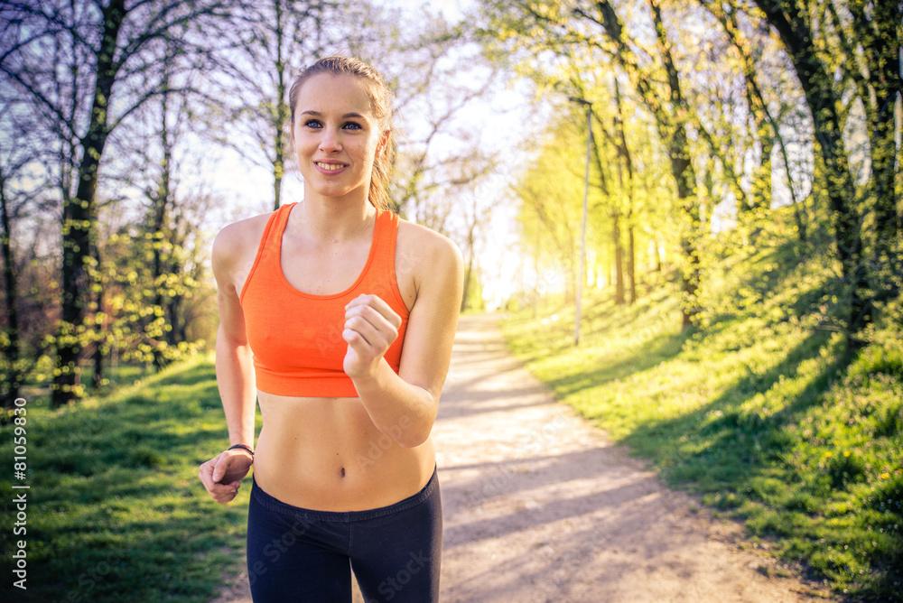 zdrowie biegacz maraton - powiększenie