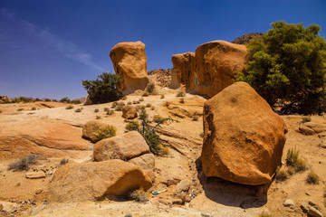 rock formations in northern Morocco