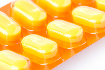 orange pills of medical
