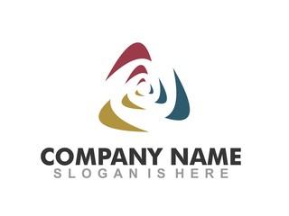 Abstract Triangle - Logo