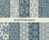 Fototapety Vector arabic patterns