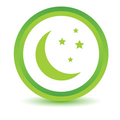 Green moon icon