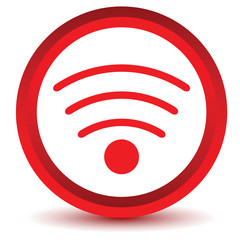 Red Wifi icon