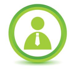 Green man icon