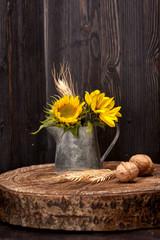 Sunflower flowers. still life