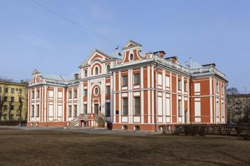 Кикины палаты. Санкт-Петербург.