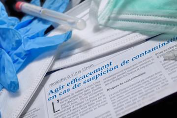 surveillance du virus ebola,mesures d'urgence