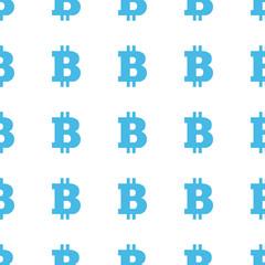 Unique Bitcoin seamless pattern