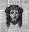 Постер, плакат: Face Christus : Veronica Veil