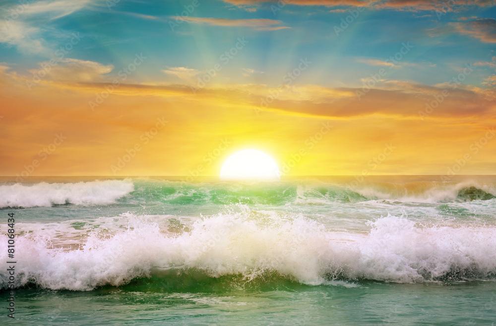 niebo sundown wschody - powiększenie