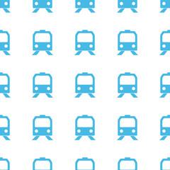 Unique Train seamless pattern