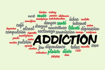 WEB ART DESIGN Tag cloud addiction drogue jeu 020