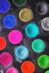 eyeshadow palette texture background