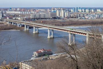 Метромост. Нижний Новгород