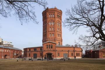 Музей воды. Водонапорная башня. Санкт-Петербург
