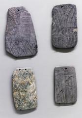 Engraved plaques - Idols