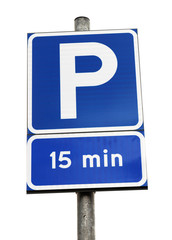 Parkering 15 minuter