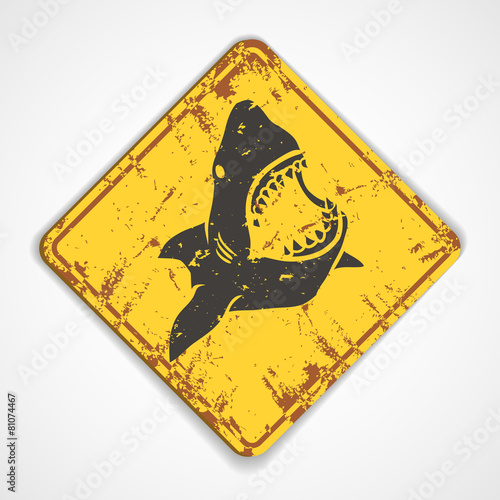 Shark plate - 81074467
