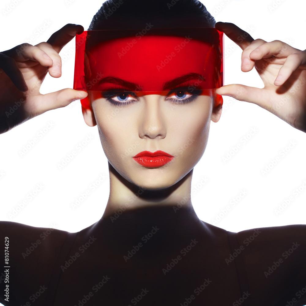 moda portret kobiece - powiększenie