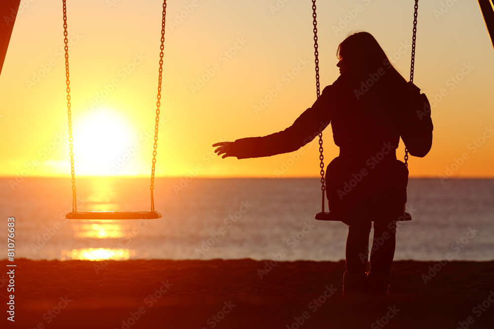 żałoba samotność młodzieży - powiększenie